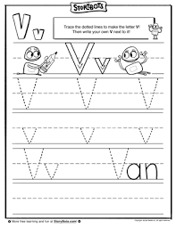 b letter v tracing sheet the letter v is now in view can you