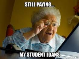 Senior College Student Meme - 5 memes about student loans that will make you laugh then cry
