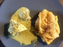 cuisiner queue de lotte queue de lotte sauce curry et sa purée de patates douces par mcb8585