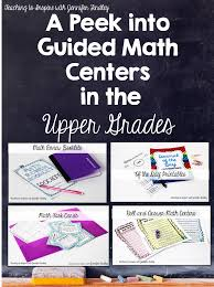 guided math in the upper grades teaching to inspire with