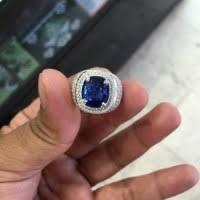 model cincin blue safir daftar harga royal blue safir ikat emas putih dan berlian bulan