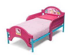 Hello Kitty Bedroom Set Toys R Us Amazon Com Delta Children Plastictoddler Bed Hello Kitty Baby