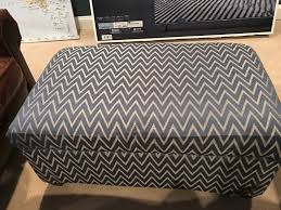 Home Goods Ottoman by Designing On The Side March 2017