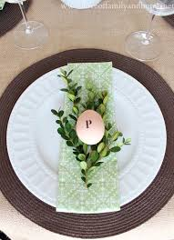 Table Setting Cards - easter tablescapes 6 beautiful ideas to inspire your easter