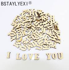 10x1 5cm thick wood wooden letters alphabet diy bridal buy alphabet letters craft and get free shipping on aliexpress com