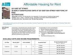 lottery for sutton place offering 20 affordable rental units