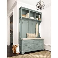 Home Decorators Colection Home Decorators Collection Sadie Antique Blue Double Hall Tree