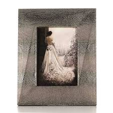 best and cheap bronzed photo frame with snakeskin texture wooden