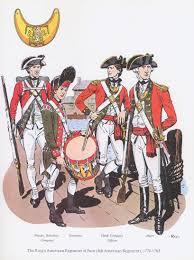 british the king u0027s american regiment of foot 4th american