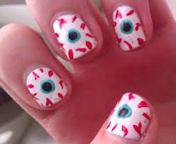 29 lovely halloween nail designs for short nails u2013 slybury com