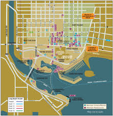 Map Downtown Chicago Maps Long Beach City Guide