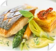 cuisine pav de saumon plat pavé de saumon grillé légumes et flan de carotte alliance