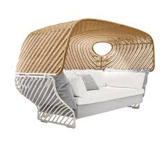 tigmi deep sofa with roof seating islands from dedon architonic