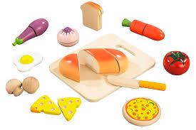 accessoire cuisine enfant cuisine hape aliments et accessoires dinette en bois pas cher