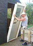 Exterior Door Install How To Install A Steel Entry Door In New Construction