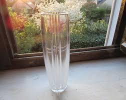 Atlantis Crystal Vase Heavy Vase Etsy