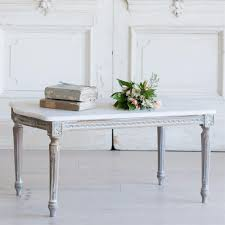 french country style vintage coffee table 1940 kathy kuo home