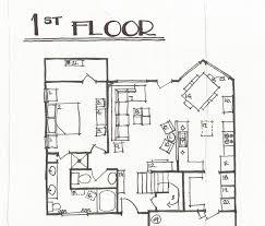 drawn bedroom sketch plan pencil and in color drawn bedroom