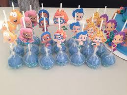 bubble guppies cakepops the sweet js pinterest bubble