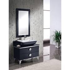 Glass Bathroom Vanity Tops by Fvn7712bl Moselle Bathroom Vanity