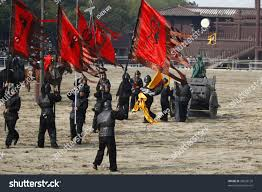 wuxi china november 25 soldiers fight stock photo 93628126