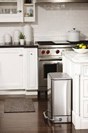 mobile kitchen island with trash can mobile island bin in white kitchen