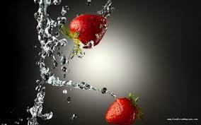 fond ecran cuisine fond d écran fraise n 4159 fondecranmagique com