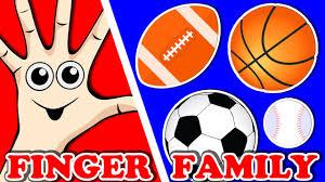 sports balls finger family songs for kids surprise eggs