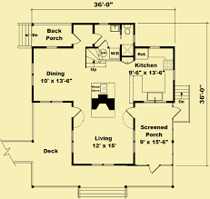 cottage house plans for a small 3 bedroom vacation home