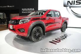 black nissan 2016 nissan navara enguard navara black edition thai motorexpo