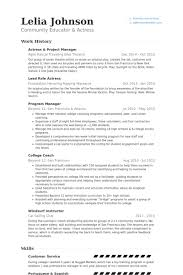 Customer Service Skills On Resume Examples by Actress Resume Samples Visualcv Resume Samples Database