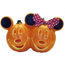 light up pumpkins for halloween your wdw store disney halloween decoration mickey and minnie