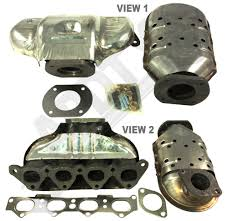 2000 hyundai elantra catalytic converter apdty 785662 exhaust manifold with catalytic converter gaskets