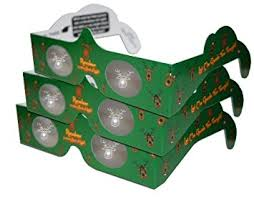 christmas glasses 3d christmas glasses specs reindeer 3