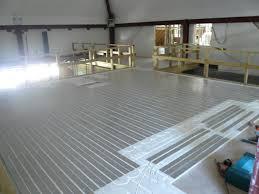 underfloor heating system installation heat tek