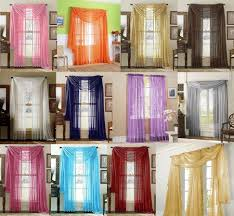 curtain scarf window treatments ideas