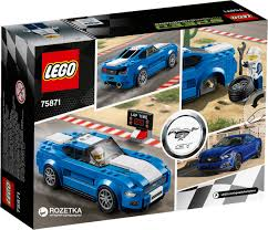 lego speed champions mercedes rozetka ua конструктор lego speed champions ford mustang gt