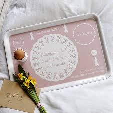 mummy u0027s breakfast in bed tray by catherine colebrook