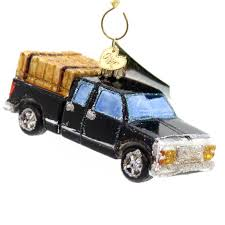 old world christmas ranch truck glass ornament sbkgifts com
