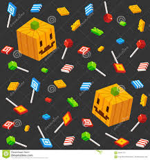 halloween candy and pumpkin pattern stock vector image 58447273