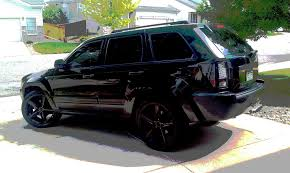 black jeep black rims interior jeep grand cherokee srt8 20