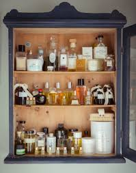 beautifully organized bathroom cabinets apartment therapy