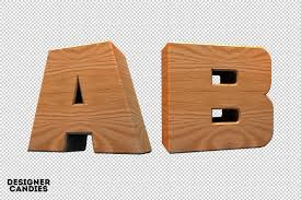 3d wood 3d wooden lettering pack designercandies