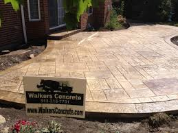walkers concrete llc stamped concrete patio ideas stamped