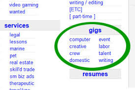 Craigslist Resumes Job Wanted by How I Made 600 Off Craigslist Gigs In One Month Budgets Are