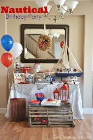 Nautical Themed Decorations For Home - 293 best nautical theme party images on pinterest nautical theme