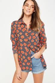 womens cotton blouses s blouses camis kimonos more cotton on