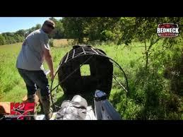 Redneck Hay Bale Blind Redneck Hay Bale Blind Time Lapse Youtube