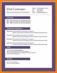 Resume Format Freshers Standard Resume Format For Freshers Standard Cool Standard Resume