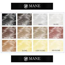Hair Color Spray For Roots Mane Hair Thickening Spray A Thicker Fuller Looking Head Of